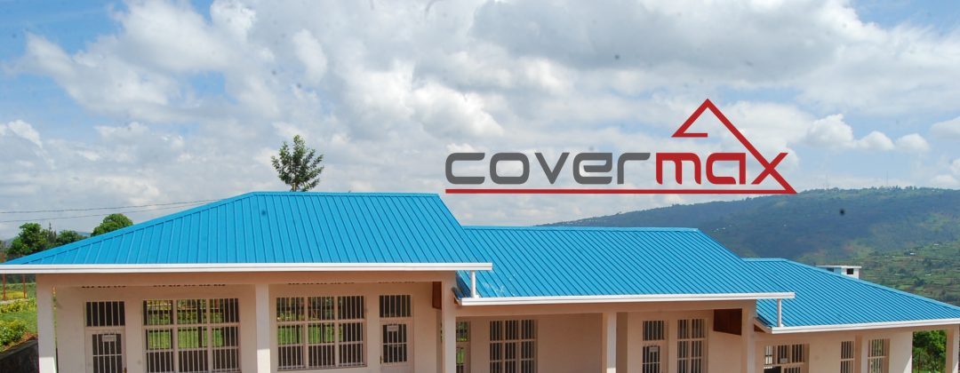 Covermax sheets are box profile roofing sheet available in a variety of colours.